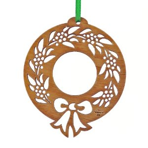 Laser Cut Ornament Technical Drawing